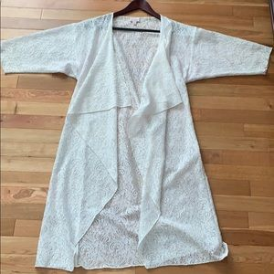 White Lace LuLaRoe Shirley